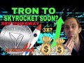 TRON TRX ABOUT TO MOONSHOOT - UP 53% AND COULD 3X - PARTNER KUCOIN & MAJOR HEDGE FUND??