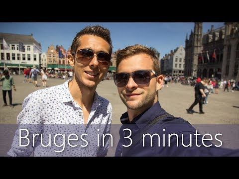 Bruges in 3 minutes | Travel Guide | Must-sees for your city tour