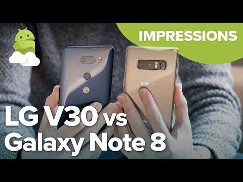 Samsung Galaxy Note 8 vs. LG V30: Impressions after 2 weeks!