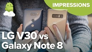 Samsung Galaxy Note 8 vs. LG V30: Impressions after 2 weeks!
