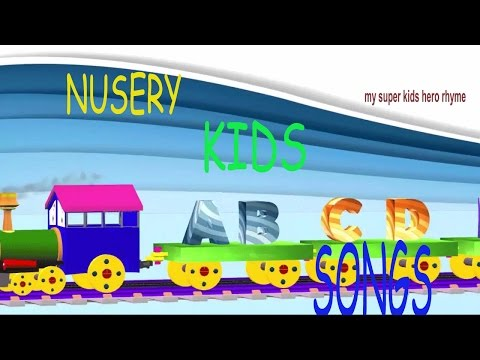 Train ABCD songs | Popular ABCD songs and Rhymes for kids | Learn ABCD songs thumbnail