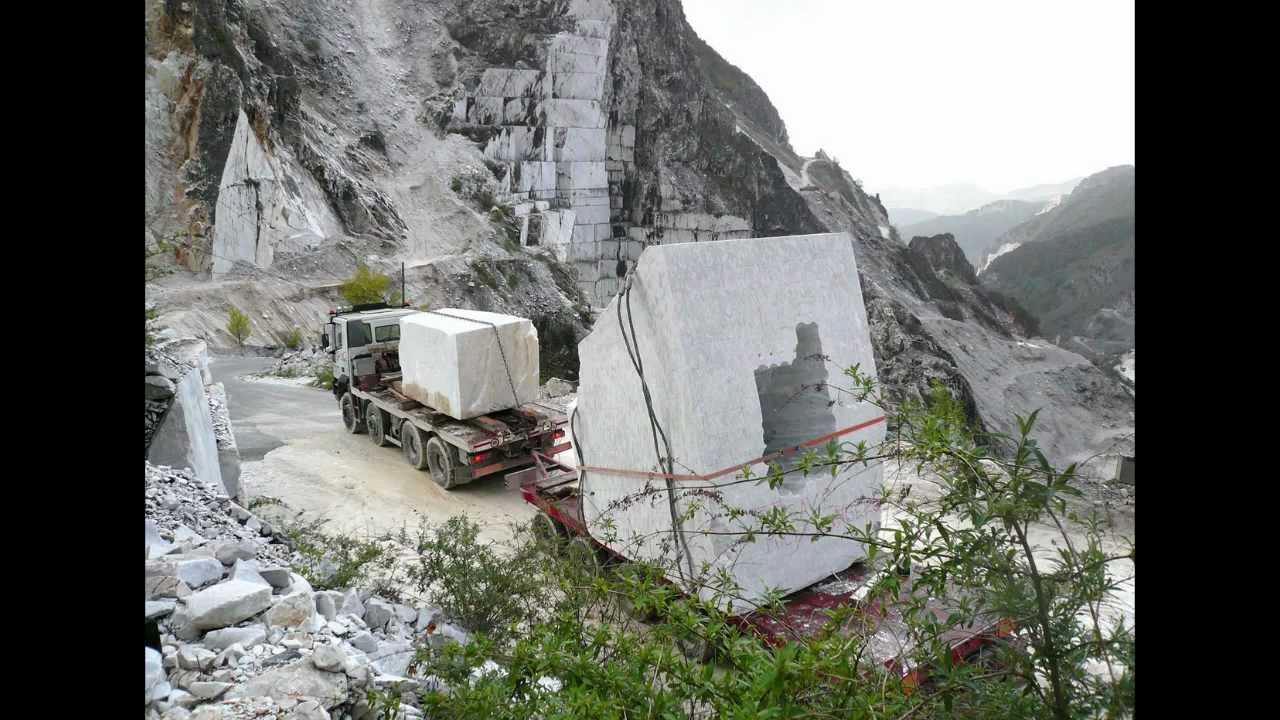 Quarrying And Carving Marble Youtube