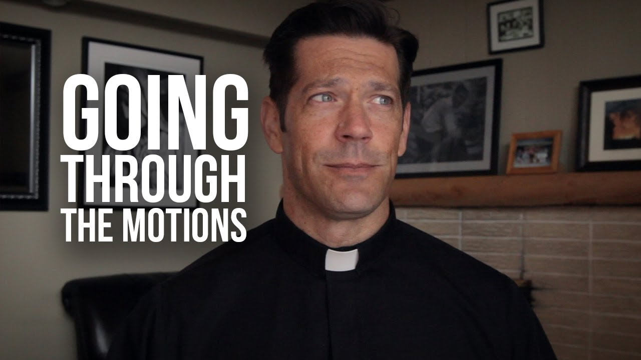 When Mass Feels like Going Through the Motions