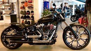 New 2018 Harley-Davidson Breakout 114cui Customized by Arni Harley in Switzerland