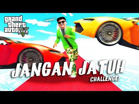 (Haha!) ''JANGAN JATUH CHALLENGE!