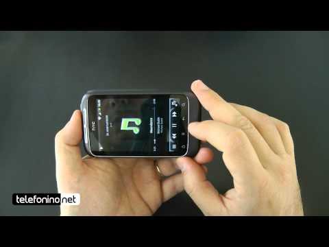 HTC Wildfire S videoreview da Telefonino.net