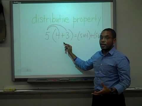3.OA.5 / 6.EE.3 / 7.EE.1 / 8.EE.2.b - Distributive Property