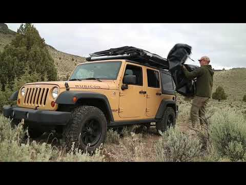 Jeep Camping Overland Style - Remote Oregon High Desert Trip