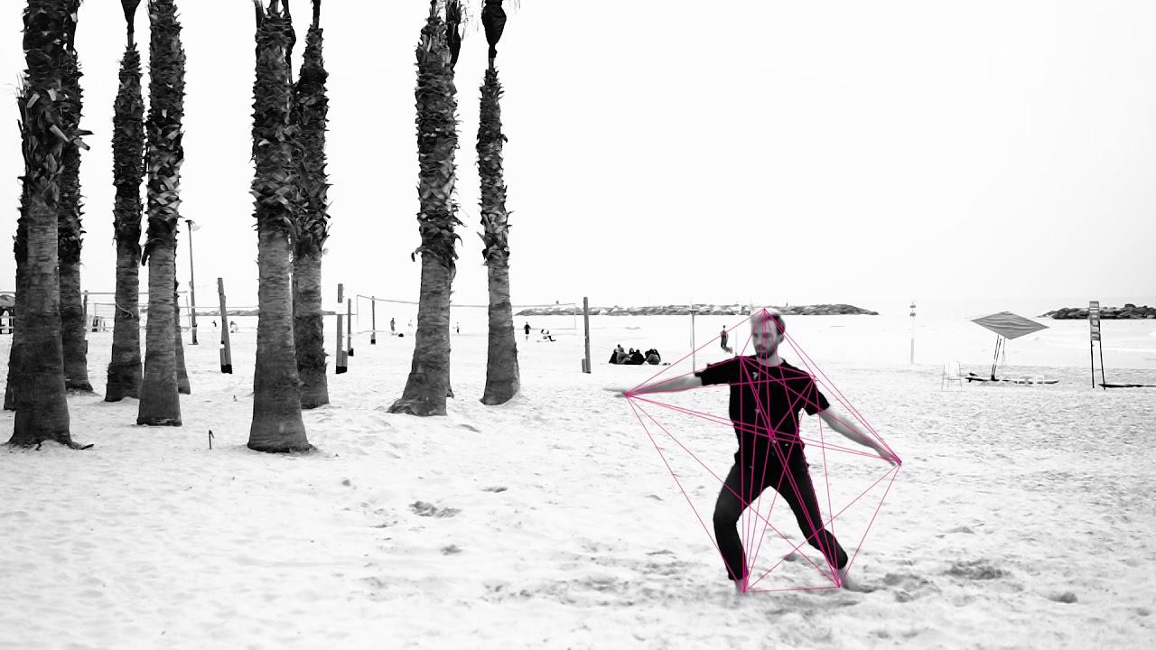 משה כץ אדריכל- די אן איי של בית- מחקר יצירתי- צורות הצלילים עי תנועת רקדנים