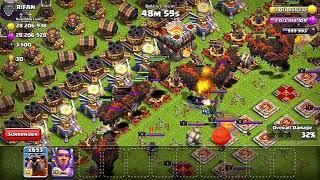 1000 Max Level Lava Hound vs Inferno Tower,X-Bow,Mega Tesla, Eagle Artillery. Clash of Clans Private