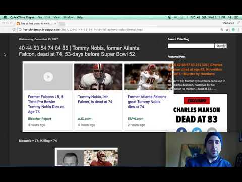 Tommy Nobis, former Atlanta Falcon, dead at 74, 53-days before Super Bowl 52