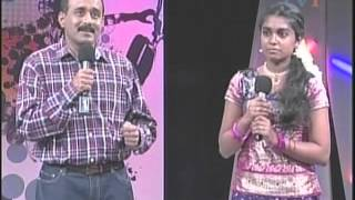 Jathavi Shanmuganantham singing Mayil Pola Ponnu Onnu- Superstar Junior Season 3