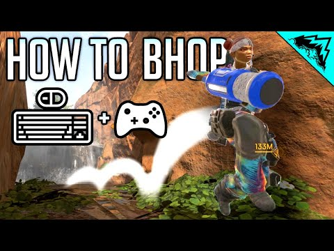 EASY HEAL WHILE MOVING - How to Bhop in Apex Legends PC/Xbox/PS4 (Apex Legends Tips)