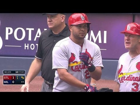STL@MIL: Peralta puts Cardinals on board with single