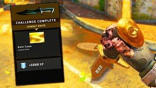 EASY GOLD CAMO COMBAT KNIFE in BLACK OPS 4!! (BLACK OPS 4 TIPS & TRICKS)