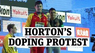 Mack Horton refuses to stand alongside convicted doper Sun Yang