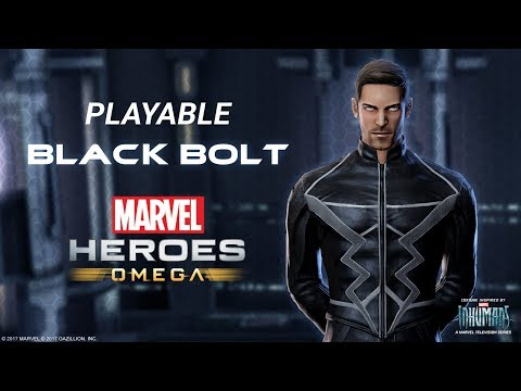 Playable Black Bolt Gives Marvel Heroes Omega Something to Shout About!