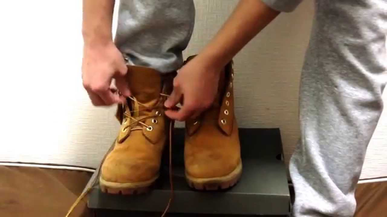【 Timberland 】ブーツ 靴紐の結び方 「B系Styleコーナー」シリーズ① , YouTube