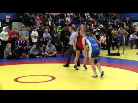 2014 Matmen Classic: 60 kg Larissa Bufalino vs. Taylor Cartwright