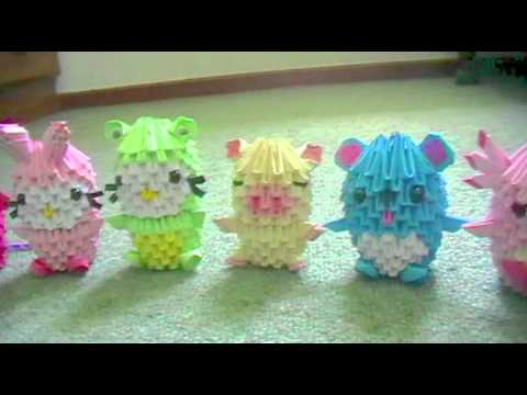 3d Origami New Collection Sanrio Cartoon Characters