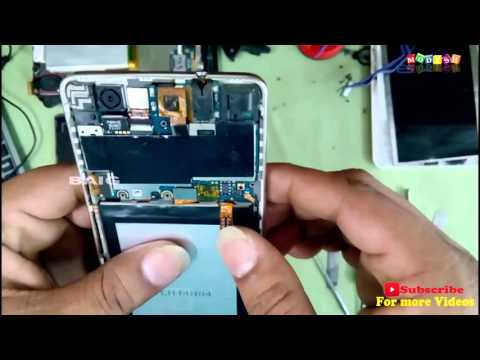 Micromax A290 Canvas Knight Cameo Battery Replacement And Disassemble-escbaig