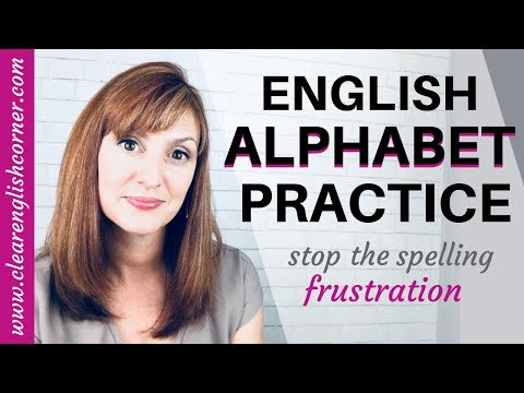 How To Say English Letters: American English Alphabet Pronunciation