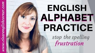 How to Say English Letters American English Alphabet Pronunciation