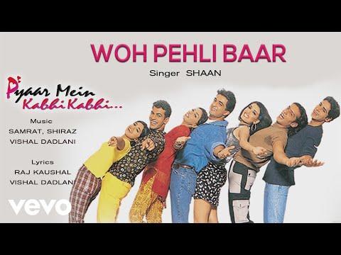 Woh Pehli Baar - Official Audio Song | Pyaar Mein Kabhi Kabhi | Vishal Dadlani