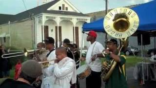 Rebirth Brass Band - One Block Party Lower 9th Ward 8/28/10
