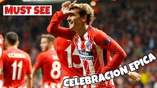 Griezmann holds Fortnite: Battle Royale celebration