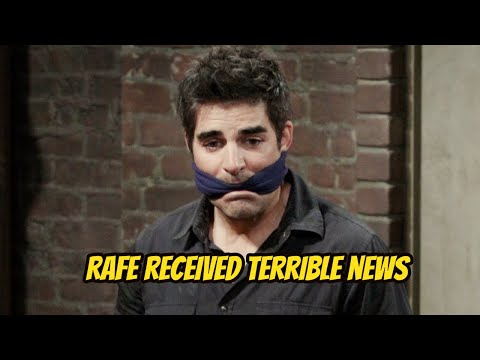 Days Of Our Lives Spoilers: Shocker - Rafe Received Terrible News