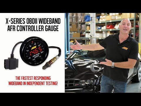 AEM X-Series OBDII Wideband Gauge Tested with HPTuners on a Chevy Camaro!