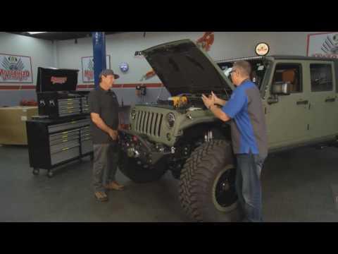 Jeep Wrangler LS Integration - Motorhead Garage Episode 1616 With Bruiser Conversions