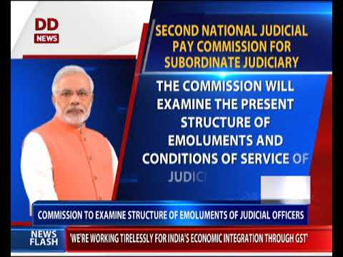 2nd National Judicial Pay Commission For Subordinate Judiciary Approved