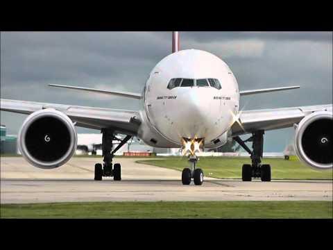 Boeing 777-300/ER's | STUNNING CLOSE UP DEPARTURES!!