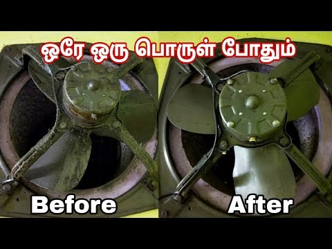 How to Clean exhaust Fan | Easy method to Clean Exhaust fan | Exhaust Fan Cleaning Easily