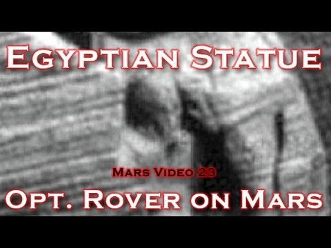 Nasa rover finds egyptian statue on mars youtube