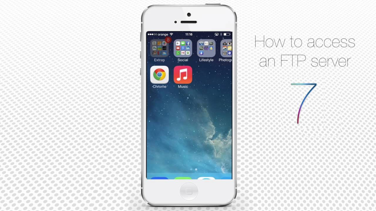 How To Access FTP Server On IPhone And IPad YouTube