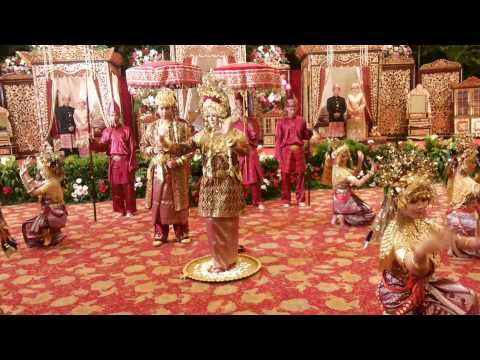 Tari Pagar Pengantin Palembang (Bedi)