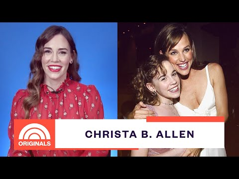 '13 Going On 30' Christa B. Allen Talks Jennifer Garner And Ariana Grande's Video | TODAY Originals