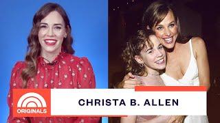 '13 Going on 30' Christa B. Allen Talks Jennifer Garner and Ariana Grande's Video   TODAY Originals