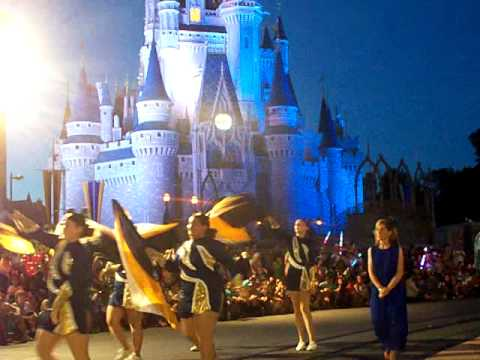 Marion, Illinois' Marching Wildcat Band at Disney, June 2015