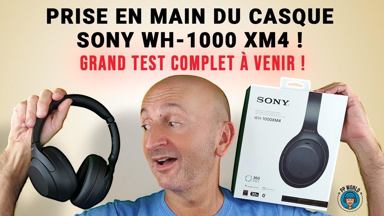 Prise en Main du Casque SONY WH-1000 XM4 ! (Test Complet à venir !)