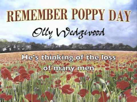 Remember Poppy Day Song - Single by Olly Wedgwood for Remembrance Day