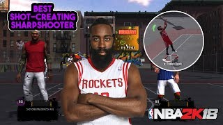 9b16562528d NBA2K18 JAMES HARDEN MONTAGE (THIS PLAYER CAN DO ANYTHING!) SHOT CREATOR  SHARPSHOOTER