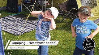 Camping | Freshwater Beach | Dorset | May 2019