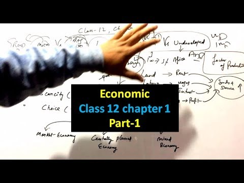 Economic NCERT Summary Class 12 Chapter-1 Basic Concept Part-1(For