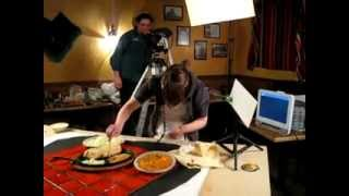 St Louis Food Photography and Video.  Food Stylist on the set.  StL Photographers.