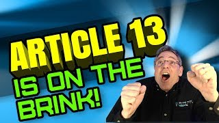 Article 13 May Not Get Approved
