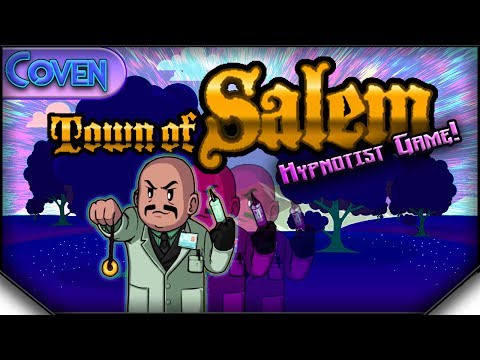Town of Salem: The Coven (Hypnotist Game) | BAD WILL HUNTING! (Mafia Returns)